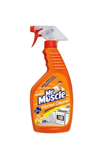 Mr. Muscle Kitchen Cleaner, 500 ml