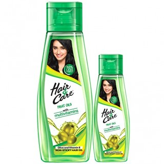 Hair & Care Fruit Oils with Olive, Mosambi & Green Apple, 300 ml with 100 ml Free (Non- Sticky Hair