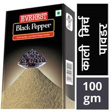 Everest Black Pepper - 100g