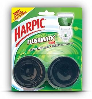 Harpic Cistern Block - Flushmatic (Twin Pine) - 100g