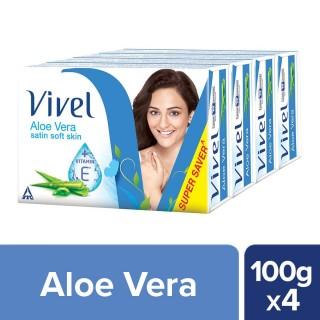 Vivel Aloe Vera (100g x 4) - 400g