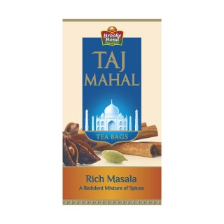 Taj Mahal Rich Masala 25 Tea Bags - 200gm