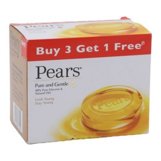 Pears Pure & Gentle Bathing Soap 75g each - Pack of 3