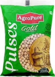 Agro Pure Gold White Peas - 1Kg