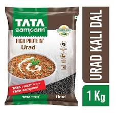 Tata Sampann Urud Kali Dal High Protein - 1Kg