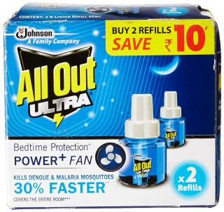 All Out Ultra  Power + Fan * 2 Refills