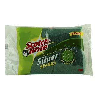 Scotch Brite Silver Sparks - 6 pad
