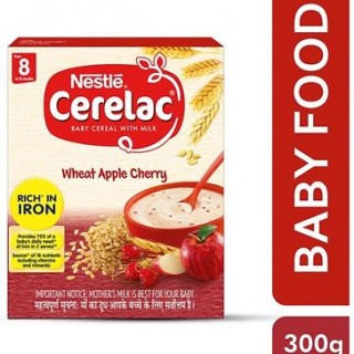 Nestle Cerelac Wheat & Apple Cherry From 8 to 12 Months