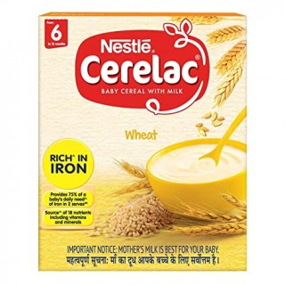 Nestle Cerelac - Wheat From 6 to 12 Months