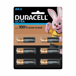 AAA 6 Battery - Duracell Ultra - 2pcs
