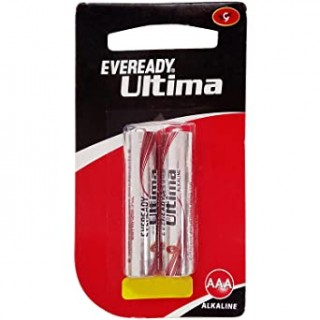 AAA - Eveready Ultima Battrey - 2pcs