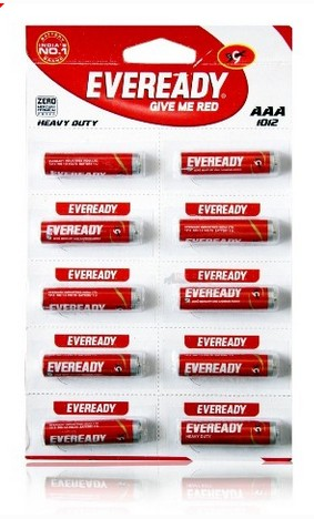 Eveready AAA 1012 - 2pcs