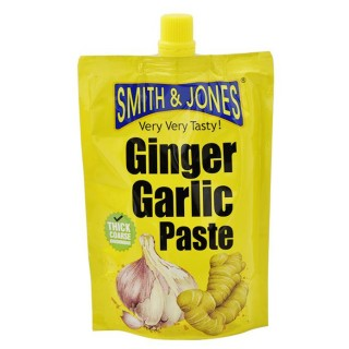Ginger Garlic Paste - Smith & Jones - 200g