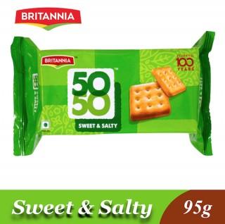 Britannia 50-50 Sweet & Salty - 95g