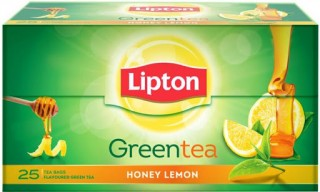 Lipton Green Tea - Honey Lemon - 25 Bags