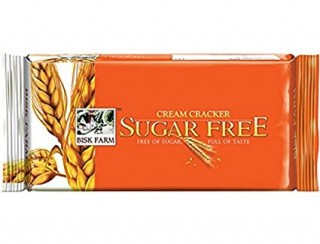 Bisk Farm Cream Cracker Sugar Free - 300g