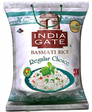 India Gate Basmati Rice Regular Choice - 5kg