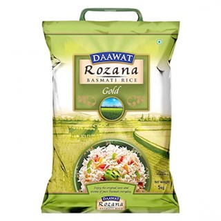 Daawat Rozana Basamti Rice Gold - 5Kg
