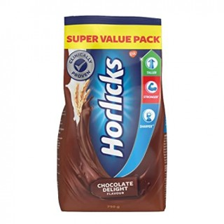 Horlicks Chocolate Delight Refill Pack - 750g
