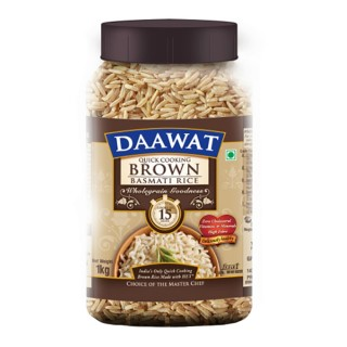Daawat Brown Basmati Rice - 1Kg