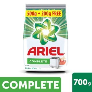 Ariel Complete Detergent Powder (500g+200g) - 700g