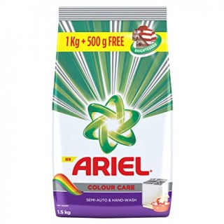 Ariel Colour Care Detergent Powder (1Kg + 500g) - 1.5Kg