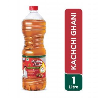 Emami Kachi Ghani Mustard Oil - 1l