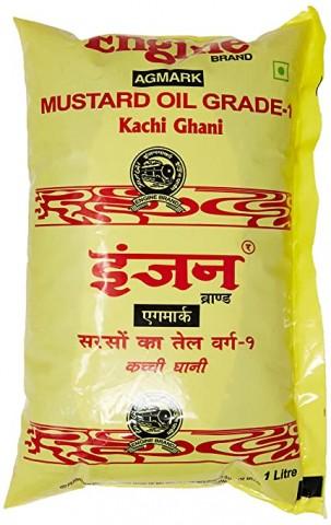Engine Kachi Ghani Mustard Oil - 1l