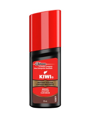 Kiwi Instant Polish Black Leather - 40ml