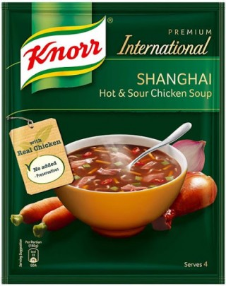 Knorr International Shanghai Hot & Sour Chicken Soup - 38g