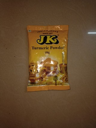 Jk Turmeric Powder - 100g